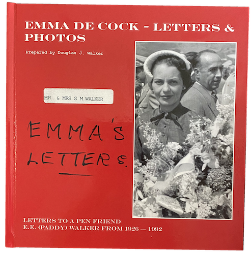Emma's Letters Book Cover